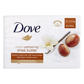 Dove Bar Soap 2pk-Shea Butter