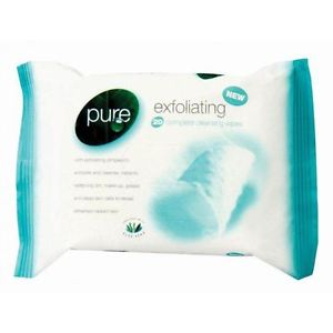 Pure Facial Wipes - Exfoliating
