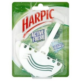 Harpic Toilet Block 38g-Mountain Pine
