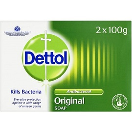 Dettol Antibacterial Bar Soap 100g