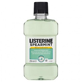 Listerine Mouth Wash 250ml - Spearmint
