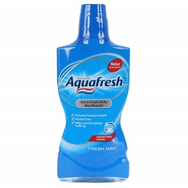 Aquafresh Mouthwash 500ml- Fresh Mint