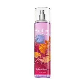 Dear Body Fine Fragrance Mist 236ml-Amber Blossom