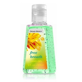 Dear Body Hand Gel 29ml - Free Breath