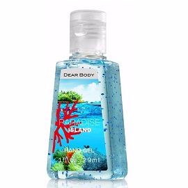 Dear Body Hand Gel 29ml - Paradise Island