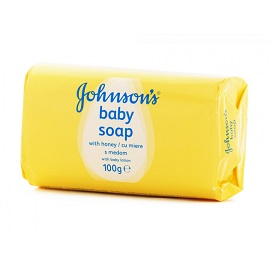 Johnson's Soap 100g-With Honey