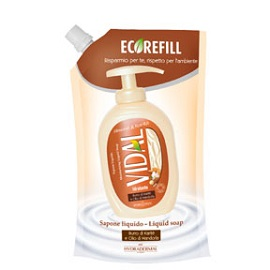 Vidal Liquid Soap Eco-Refill 750ml - Almond & Karite