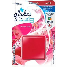 Glade Paper Air Freshner 8g- I Love You