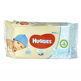 J & J Huggies Wipes 56's- Pure