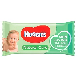 J & J Huggies Wipes 56's- Natural Care
