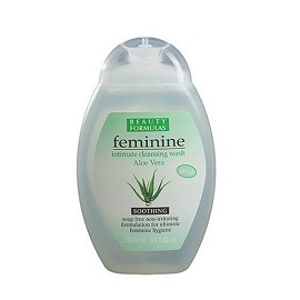 Beauty Formulas Feminine Wash 250ml - Aloe Vera