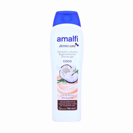 Amalfi Shower Gel 750ml - Coconut Milk