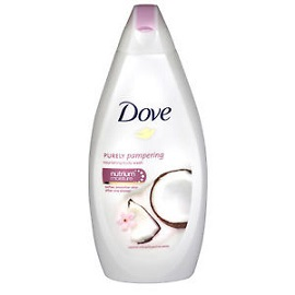 Dove Bath Gel 500ml - Coconut Milk & Jasmine Petals