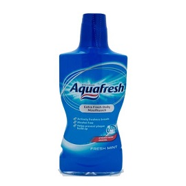 Aquahfresh Mouthwash 500ml - Freshmint
