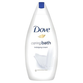 Dove Bath Gel 750ml - Indulging Cream