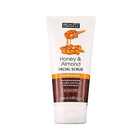Beauty Formulas Facial Scrub 150ml - Honey Almond