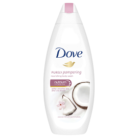 Dove Bath Gel 750ml - Coconut Milk & Jasmine Petals