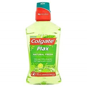 Colgate Plax Mouth Wash 500ml - Natural Fresh