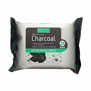 Beauty Formulas Facial Wipes 25's - Charcoal