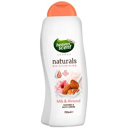 Heaven Scent Milk & Almond Bath 700ml