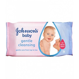 J & J Huggies Wipes 56's - Gentle Cleansing