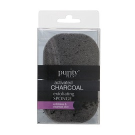 Purity Charcoal Exfoliating Sponge