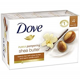 Dove Bar Soap 4PK - Shea Butter