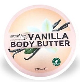 Derma V10 Body Butter 220ml - Vanilla