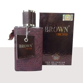 Brown Orchid Ladies Perfume (Brown) - 100ml