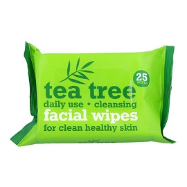 Tea Tree Facial Wipes - 25's