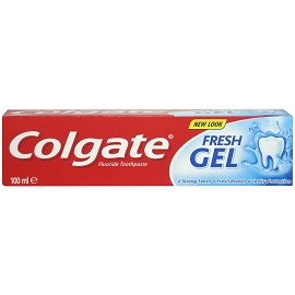 Colgate Fluoride Toothpaste 100ml - Fresh Gel