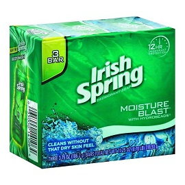 Irish Spring Bar Soap 106.3g - Moisture Blast