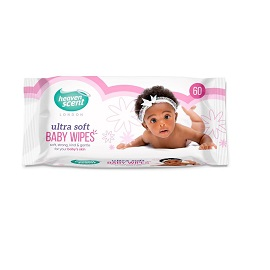 Heaven Scent Baby Wipes 60's - Original