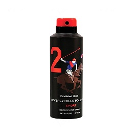 Beverly Hills Polo Club Men Deo Spray 175ml - Sport